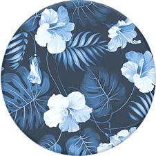 POPSOCKETS 800989 Blue Island - Poignée et support de téléphone portable (Bleu/Blanc)