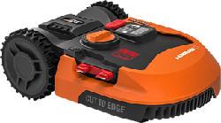 WORX GARDEN Landroid L WR155E - Rasenmäher Roboter (Max. Flächenleistung: 2000 m², Schwarz/Orange)