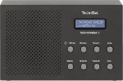 TECHNISAT TECHNIRADIO 3 - Digitalradio (DAB+, FM, Schwarz)