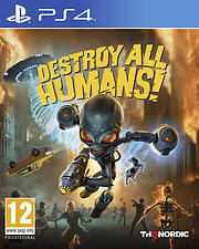 PS4 DESTROY ALL HUMANS! /E/F