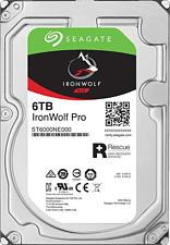 SEAGATE IronWolf Pro - Festplatte (HDD, 6 TB, Silber)