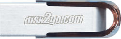 DISK2GO Prime - Chiavetta USB  (8 GB, Argento)