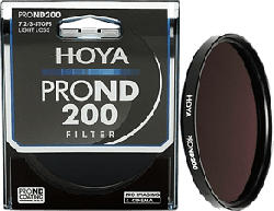 HOYA ND200 Pro 82mm - Graufilter (Schwarz)