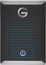 G-TECHNOLOGY G-DRIVE Mobile Pro - Disco rigido (SSD, 2 TB, Nero/Argento)