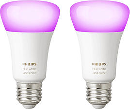 PHILIPS Hue White & Color Ambiance - Leuchtmittel (Weiss)