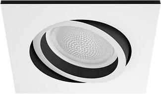 PHILIPS Hue White and Color Ambiance Centura - Faretto a incasso (Bianco)