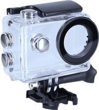 ROLLEI 20617 Waterproof Case 4S PLUS - Unterwasserschutzgehäuse (Transparent/Schwarz)