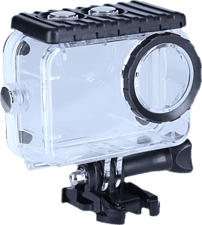ROLLEI 20618 Waterproof Case 6S Plus - Unterwasserschutzgehäuse (Transparent/Schwarz)
