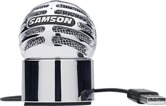 SAMSON Meteorite - Microfono USB (Argento)