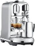 MediaMarkt SAGE Creatista Plus - Nespresso® Kaffeemaschine (Gebürsteter Edelstahl)