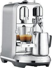 SAGE Creatista Plus - Macchina da caffè Nespresso® (Acciaio inossidabile spazzolato)