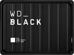 WESTERN DIGITAL WD_BLACK P10 Game Drive - Festplatte (HDD, 5 TB, Schwarz)