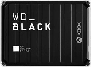 WESTERN DIGITAL WD_BLACK P10 Game Drive 4TB für Xbox - Festplatte (Schwarz/Weiss)