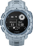 MediaMarkt GARMIN Instinct - Smartwatch GPS (Larghezza: 22 mm, Silicone, Blu chiaro/Blu)