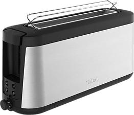 TEFAL Element TL4308 - Grille- pain (Acier inoxydable/Noir)