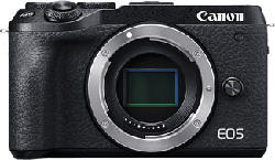 CANON EOS M6 Mark II Body - Appareil photo à objectif interchangeable (Résolution photo effective: 32.5 MP) Noir