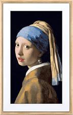 "NETGEAR Meural Canvas II 27I Digitaler Bilderrahmen (27 "") Helles Holz"
