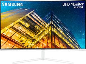 "SAMSUNG LU32R591CWU - Moniteur (32 "", UHD 4K, 60 Hz, Blanc)"