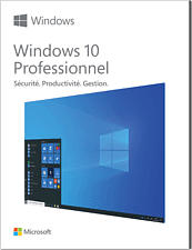 PC - Windows 10 Pro 32/64 Bit Clé USB /F