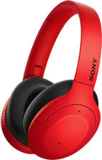 SONY WH-H910N - Bluetooth-Kopfhörer (Over-ear, Rot)