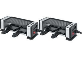 ROTEL Duo Connect 2x2 - Raclette (Noir/Acier inoxydable)