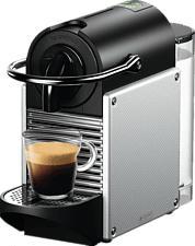 DE-LONGHI Pixie EN 124.S - Macchina da caffè Nespresso® (Electric Aluminium)