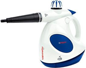 POLTI Vaporetto First - Dampfreiniger (Weiss/Blau)