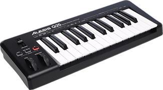 ALESIS Q25 - Contrôleur clavier MIDI/USB (Noir)