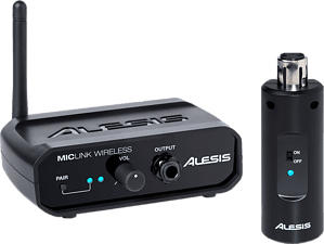 ALESIS Miclink Wireless - Funkübertragungssystem (Schwarz)