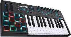 ALESIS VI25 - MIDI/USB Keyboard Controller (Schwarz)
