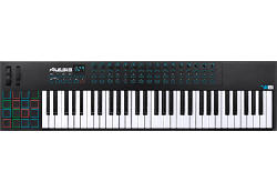 ALESIS VI61 - USB/MIDI Keyboard Controller (Schwarz/Weiss)