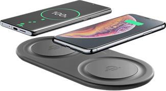 CELLULAR LINE Wireless Fast Charger Dual - Ladegerät (Schwarz)
