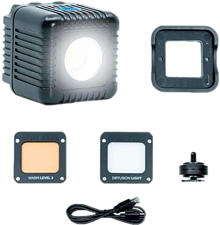 LUME CUBE LC-V2-1 2.0 Daylight - Lumière LED (Noir)