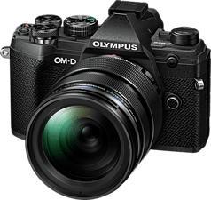 OLYMPUS OM-D E-M5 Mark III Body + M.Zuiko Digital ED 12-40mm F2.8 PRO - Systemkamera (Fotoauflösung: 20.4 MP) Schwarz