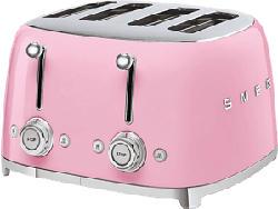 SMEG 50's Retro Style 4S  - Tostapane (Rosa)