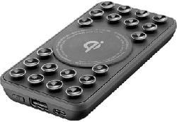 CELLULAR LINE Octopus Wireless 5000 - Powerbank (Nero)