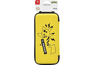 HORI Pikachu - Coque (Noir/Jaune)