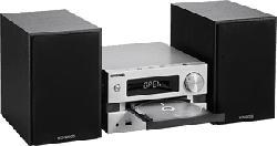KENWOOD M-720DAB - Stereoanlage (Silber/Schwarz)