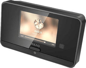 PEAQ PDR10BT-B - Radio digitale (DAB+, FM, Internet radio, Nero)