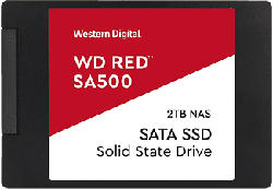 WESTERN DIGITAL WD Red SA500 NAS SATA SSD - Disco rigido (SSD, 2 TB, Nero)