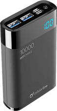 CELLULAR LINE FreePower Manta HD 10000 - Powerbank (Nero)
