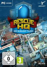 PC - Rescue HQ: Der Blaulicht Tycoon /D