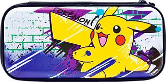 HORI Nintendo Switch - Premium Vault Case (Pikachu) - Étui (Multicolore)