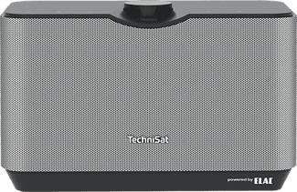 TECHNISAT AUDIOMASTER MR2 - Enceinte sans fil (Noir/Argent)