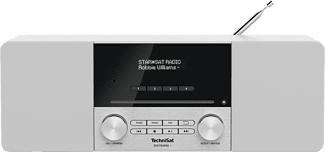 TECHNISAT DIGITRADIO 3 - Digitalradio (DAB+, FM, DAB, Weiss/Grau)