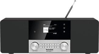 TECHNISAT DIGITRADIO 4 C - Radio numérique (DAB, DAB+, FM, Noir/Argent)
