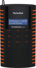 TECHNISAT TECHNIRADIO Solar - Radio digitale (DAB, DAB+, FM, Arancione/Nero)