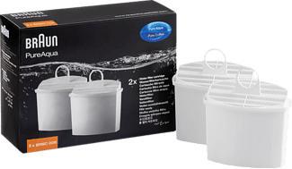 BRAUN PureAqua BRSC006 - Wasserfilterkartusche (Weiss)