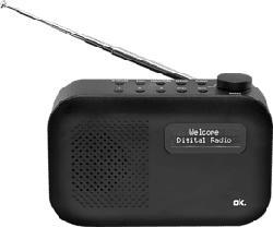 OK ORD 111BT-B - Digitalradio (DAB, DAB+, FM, Schwarz)