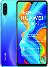 """HUAWEI P30 lite New Edition - Smartphone (6.15 """", 256 GB, Peacock Blue)"""